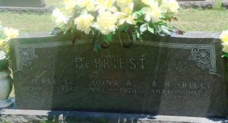 DE PRIEST, DONA A - Boone County, Arkansas | DONA A DE PRIEST - Arkansas Gravestone Photos