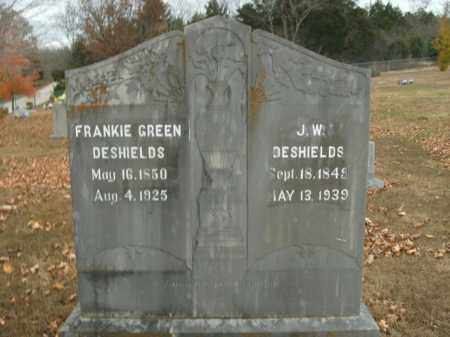 GREEN DESHIELDS, FRANKIE - Boone County, Arkansas | FRANKIE GREEN DESHIELDS - Arkansas Gravestone Photos
