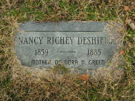 DESHIELDS, NANCY - Boone County, Arkansas | NANCY DESHIELDS - Arkansas Gravestone Photos