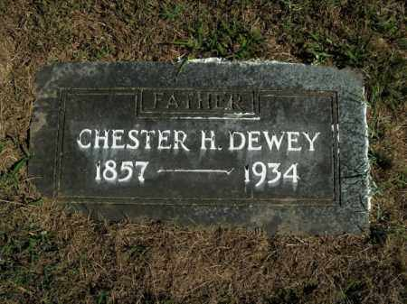 DEWEY, CHESTER H. - Boone County, Arkansas | CHESTER H. DEWEY - Arkansas Gravestone Photos