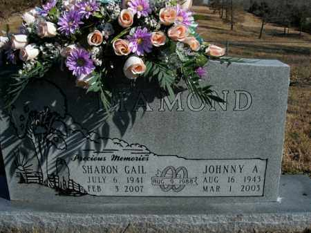 DIAMOND, JOHNNY A. - Boone County, Arkansas | JOHNNY A. DIAMOND - Arkansas Gravestone Photos