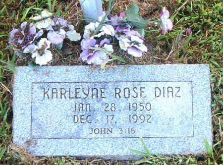 DIAZ, KARLEYNE ROSE - Boone County, Arkansas   KARLEYNE ROSE DIAZ - Arkansas Gravestone Photos