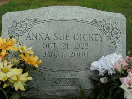 ERVIN DICKEY, ANNA SUE - Boone County, Arkansas   ANNA SUE ERVIN DICKEY - Arkansas Gravestone Photos