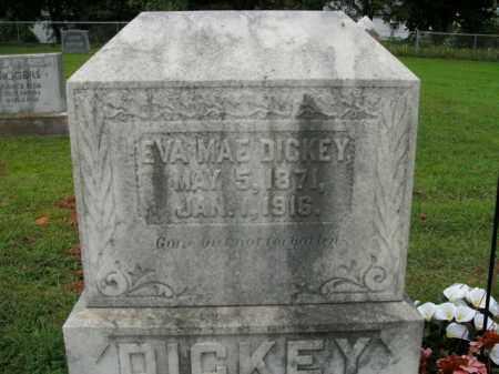 DICKEY, EVA MAE - Boone County, Arkansas   EVA MAE DICKEY - Arkansas Gravestone Photos