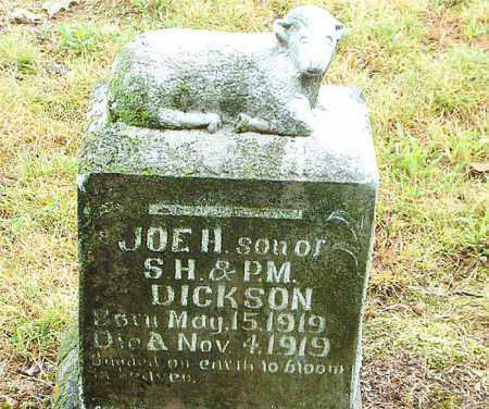 DICKSON, JOE  H. - Boone County, Arkansas | JOE  H. DICKSON - Arkansas Gravestone Photos
