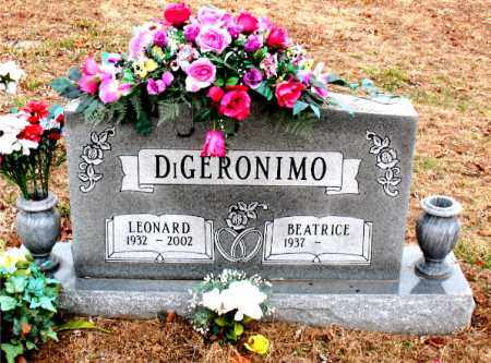 DIGERONIMO, LEONARD - Boone County, Arkansas | LEONARD DIGERONIMO - Arkansas Gravestone Photos