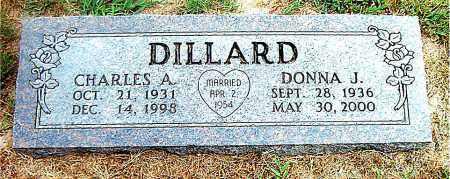 DILLARD, DONNA  J. - Boone County, Arkansas | DONNA  J. DILLARD - Arkansas Gravestone Photos