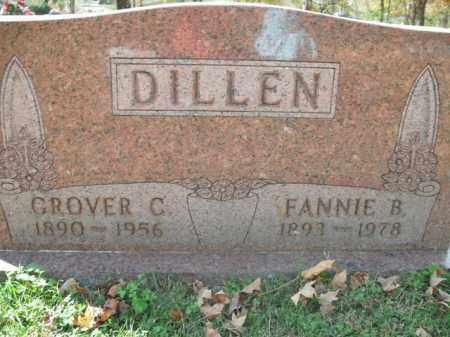DILLEN, FANNIE B. - Boone County, Arkansas | FANNIE B. DILLEN - Arkansas Gravestone Photos