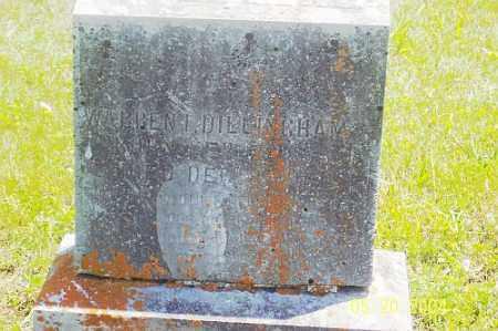 DILLINGHAM, WARREN  I. - Boone County, Arkansas | WARREN  I. DILLINGHAM - Arkansas Gravestone Photos