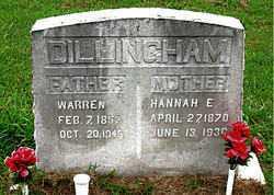 DILLINGHAM, WARREN POPE - Boone County, Arkansas | WARREN POPE DILLINGHAM - Arkansas Gravestone Photos