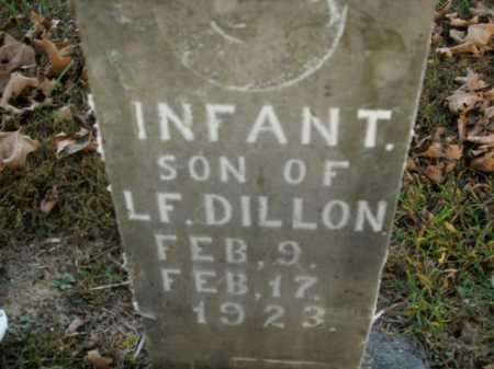 DILLON, INFANT SON - Boone County, Arkansas   INFANT SON DILLON - Arkansas Gravestone Photos