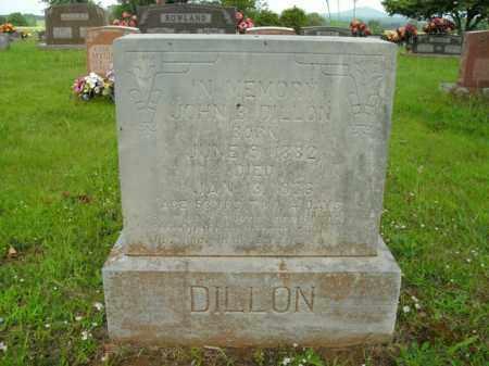 DILLON, JOHN B. - Boone County, Arkansas | JOHN B. DILLON - Arkansas Gravestone Photos
