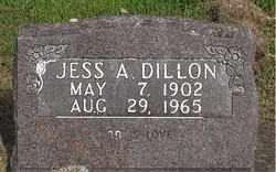 DILLON, JESS A. - Boone County, Arkansas | JESS A. DILLON - Arkansas Gravestone Photos