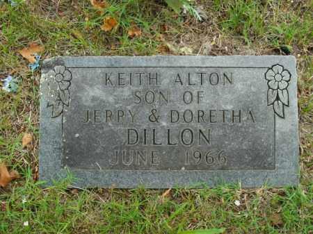 DILLON, KEITH ALTON - Boone County, Arkansas | KEITH ALTON DILLON - Arkansas Gravestone Photos