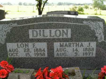 DILLON, MARTHA J. - Boone County, Arkansas | MARTHA J. DILLON - Arkansas Gravestone Photos
