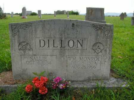 DILLON, WM. MONROE - Boone County, Arkansas | WM. MONROE DILLON - Arkansas Gravestone Photos