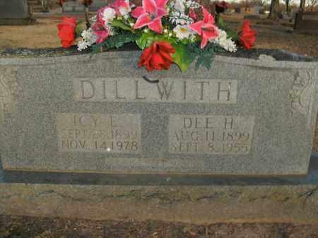 DILLWITH, DEE H. - Boone County, Arkansas | DEE H. DILLWITH - Arkansas Gravestone Photos