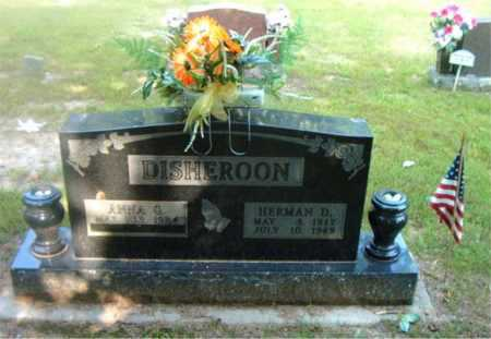 DISHEROON, HERMAN DALE - Boone County, Arkansas   HERMAN DALE DISHEROON - Arkansas Gravestone Photos