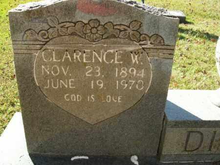 DIXON, CLARENCE W. - Boone County, Arkansas   CLARENCE W. DIXON - Arkansas Gravestone Photos