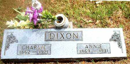 DIXON, ANNIE - Boone County, Arkansas | ANNIE DIXON - Arkansas Gravestone Photos