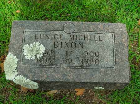 DIXON, EUNICE MICHELL - Boone County, Arkansas | EUNICE MICHELL DIXON - Arkansas Gravestone Photos