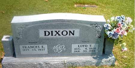 DIXON, LOYD T. - Boone County, Arkansas   LOYD T. DIXON - Arkansas Gravestone Photos