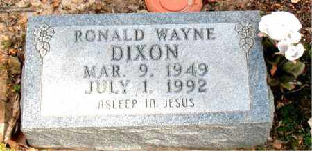 DIXON, RONALD WAYNE - Boone County, Arkansas | RONALD WAYNE DIXON - Arkansas Gravestone Photos