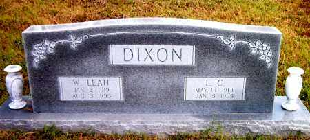 DIXON, L.  C. - Boone County, Arkansas | L.  C. DIXON - Arkansas Gravestone Photos