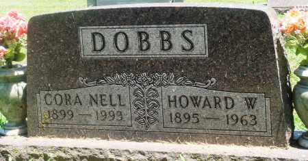 DOBBS, HOWARD W - Boone County, Arkansas | HOWARD W DOBBS - Arkansas Gravestone Photos