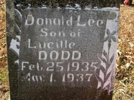 DODD, DONALD LEE - Boone County, Arkansas | DONALD LEE DODD - Arkansas Gravestone Photos