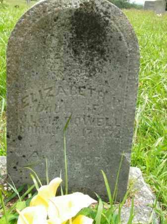 DOWELL, ELIZABETH H. - Boone County, Arkansas | ELIZABETH H. DOWELL - Arkansas Gravestone Photos