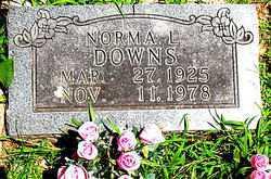 DOWNS, NORMA L. - Boone County, Arkansas | NORMA L. DOWNS - Arkansas Gravestone Photos