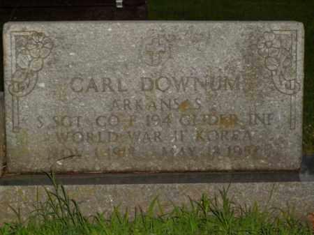 DOWNUM  (VETERAN 2 WARS), CARL - Boone County, Arkansas | CARL DOWNUM  (VETERAN 2 WARS) - Arkansas Gravestone Photos
