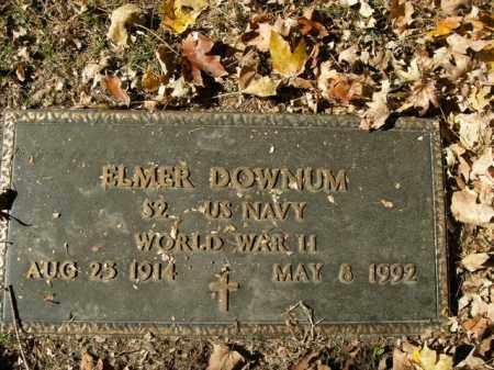DOWNUM  (VETERAN WWII), ELMER - Boone County, Arkansas | ELMER DOWNUM  (VETERAN WWII) - Arkansas Gravestone Photos