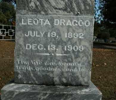 DRAGOO, LEOTA - Boone County, Arkansas | LEOTA DRAGOO - Arkansas Gravestone Photos