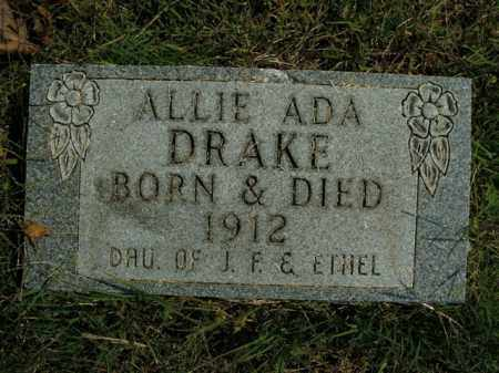 DRAKE, ALLIE ADA - Boone County, Arkansas | ALLIE ADA DRAKE - Arkansas Gravestone Photos