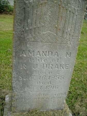 DRAKE, AMANDA M. - Boone County, Arkansas | AMANDA M. DRAKE - Arkansas Gravestone Photos