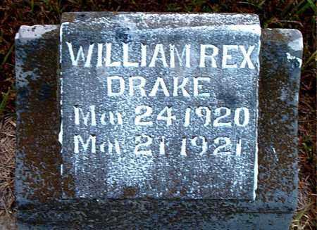 DRAKE, WILLIAM REX - Boone County, Arkansas | WILLIAM REX DRAKE - Arkansas Gravestone Photos