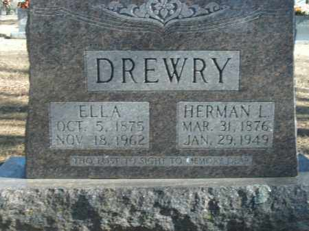 DREWRY, ELLA - Boone County, Arkansas | ELLA DREWRY - Arkansas Gravestone Photos
