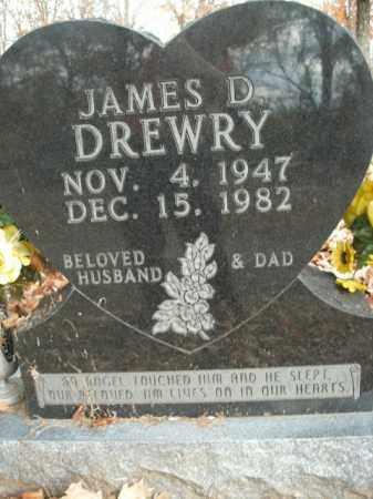 DREWRY, JAMES D. - Boone County, Arkansas | JAMES D. DREWRY - Arkansas Gravestone Photos