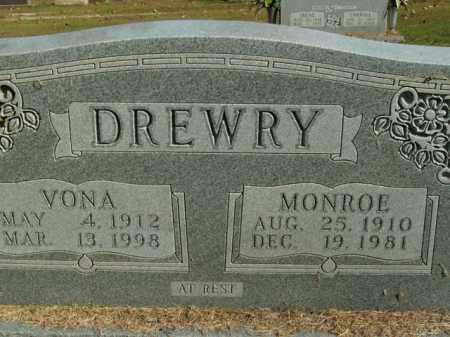 DREWRY, MONROE - Boone County, Arkansas | MONROE DREWRY - Arkansas Gravestone Photos