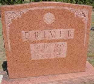 DRIVER, JOHN ROY - Boone County, Arkansas   JOHN ROY DRIVER - Arkansas Gravestone Photos