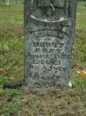 DRURY, SUSAN - Boone County, Arkansas | SUSAN DRURY - Arkansas Gravestone Photos
