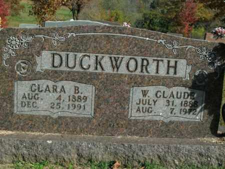 BROWN DUCKWORTH, CLARA BELLE - Boone County, Arkansas | CLARA BELLE BROWN DUCKWORTH - Arkansas Gravestone Photos