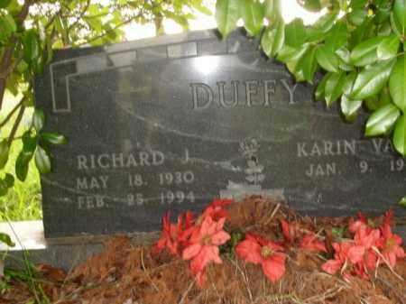 DUFFY, RICHARD J. - Boone County, Arkansas | RICHARD J. DUFFY - Arkansas Gravestone Photos