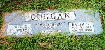 DUGGAN, RALPH  H. - Boone County, Arkansas   RALPH  H. DUGGAN - Arkansas Gravestone Photos