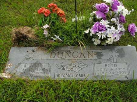 DUNCAN, BOYD - Boone County, Arkansas   BOYD DUNCAN - Arkansas Gravestone Photos