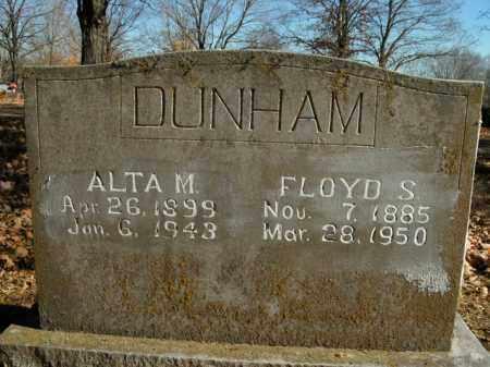 DUNHAM, ALTA M. - Boone County, Arkansas | ALTA M. DUNHAM - Arkansas Gravestone Photos