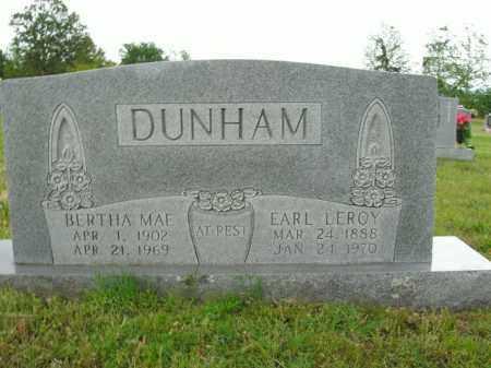 DUNHAM, BERTHA MAE - Boone County, Arkansas | BERTHA MAE DUNHAM - Arkansas Gravestone Photos