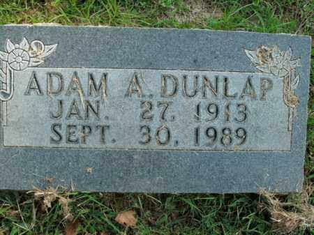 DUNLAP, ADAM A. - Boone County, Arkansas   ADAM A. DUNLAP - Arkansas Gravestone Photos